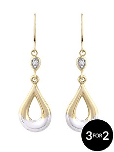 love-gold-9-carat-diamond-set-dropper-earrings-with-white-rhodium-highlights