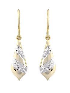 love-silver-sterling-silver-patterned-bomber-earrings