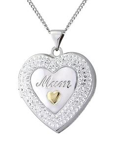 keepsafe-sterling-silver-and-yellow-gold-crystal-set-mum-locket-with-message