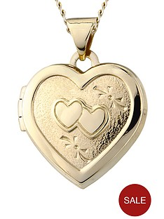 love-gold-9-carat-gold-heart-locket-with-chain
