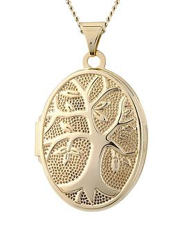 keepsafe-family-tree-locket-in-precious-9-carat-gold-complete-with-a-fine-gold-neckchain