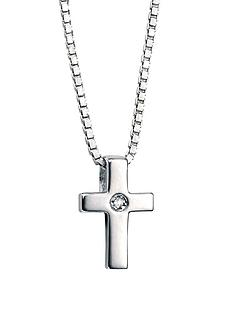 d-for-diamond-childrens-sterling-silver-cross-pendant
