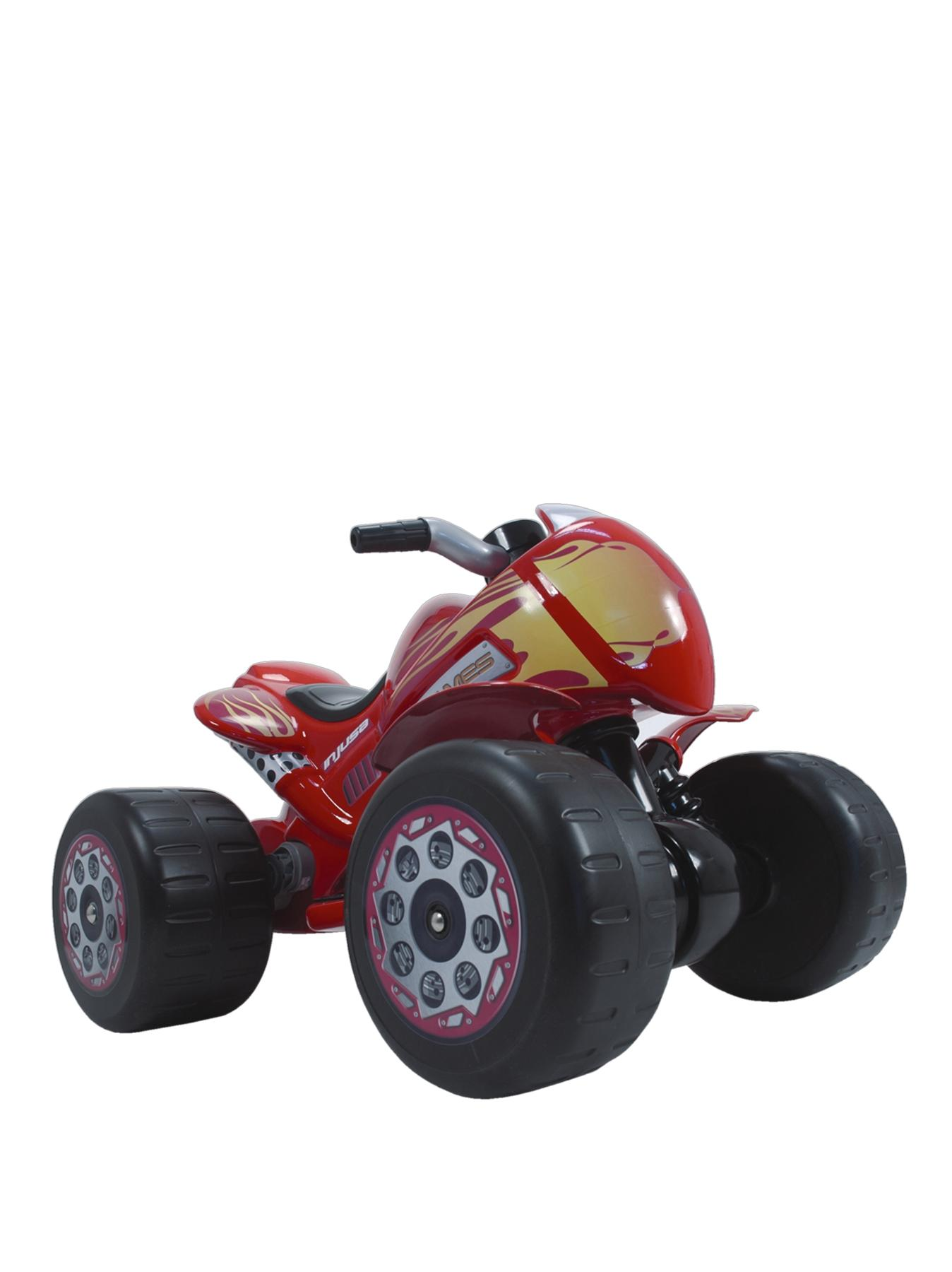 Flames Gaint Quad 6 Volt