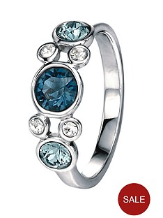 fiorelli-sterling-silver-blue-cluster-swarovski-crystal-ring
