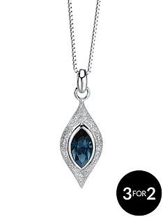 fiorelli-sterling-silver-turquoise-swarovski-crystal-diamond-cut-pendant