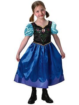 Disney Frozen Girls Classic Anna  Child Costume Age 38 Years