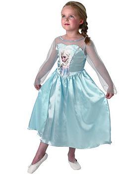 Disney Frozen Girls Classic Elsa  Child Costume Age 38 Years