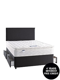 silentnight-celine-deluxe-pillowtop-divan-medium