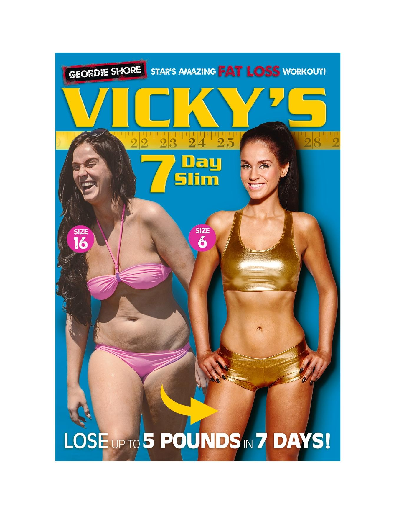 Vicky Pattinson - 7 Day Slim DVD