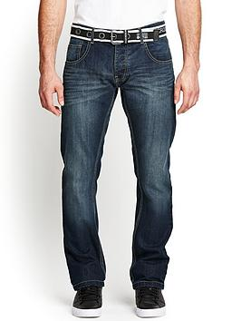 crosshatch-mens-aduna-belted-straight-jeans