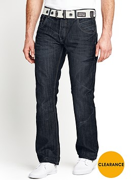 crosshatch-mens-hornet-straight-belted-jeans-darkwash