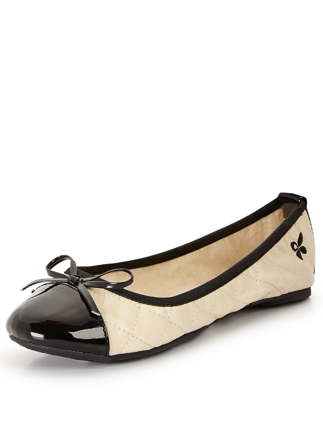 Olivia Ballerinas, Cream