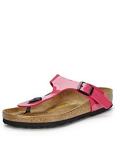 birkenstock-gizeh-pink-toe-post-sandals