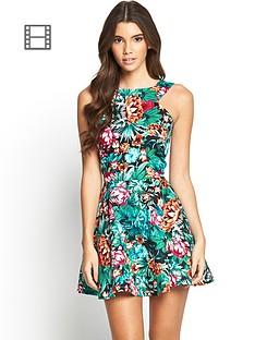 ax-paris-tropical-print-dress
