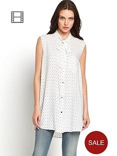 diesel-star-print-blouse