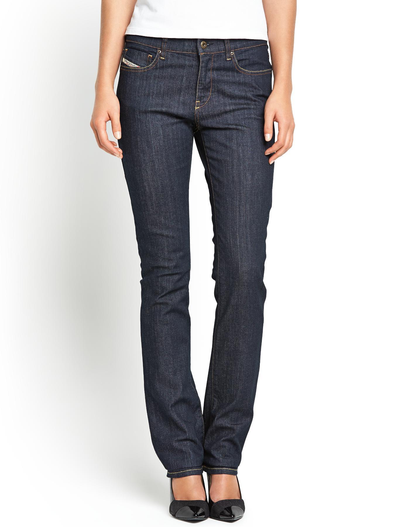 Bootzee Slim Bootcut Jeans - Raw