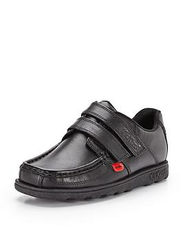 Kickers Boys Fragma Strap Shoes