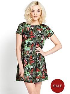 printed-swing-dress