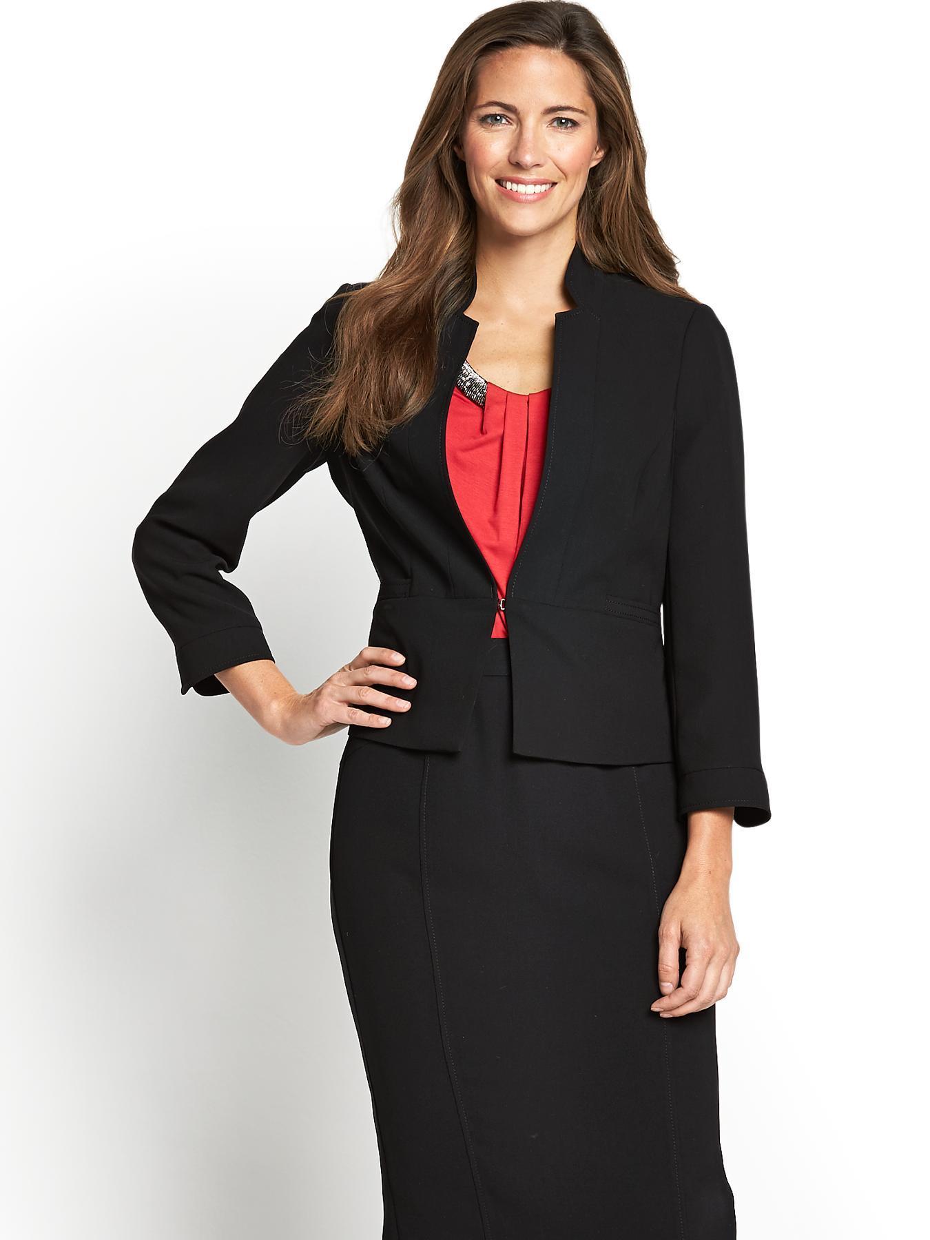 Short Rochette Jacket, Black