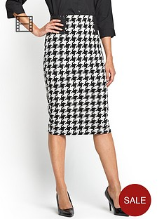 houndstooth-pencil-skirt