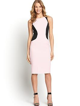 south-colourblock-illusion-bi-stretch-fashion-dress