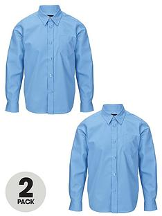 top-class-boys-long-sleeved-premium-non-iron-shirts-2-pack