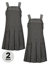 Girls Kilt Pinafore (2 Pack)