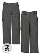 Cargo Trousers (2 Pack)