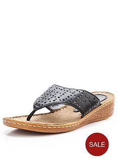 jemima-cut-out-toe-post-leather-sandal