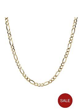 love-gold-9-carat-yellow-gold-14oz-solid-diamond-cut-figaro-curb-chain