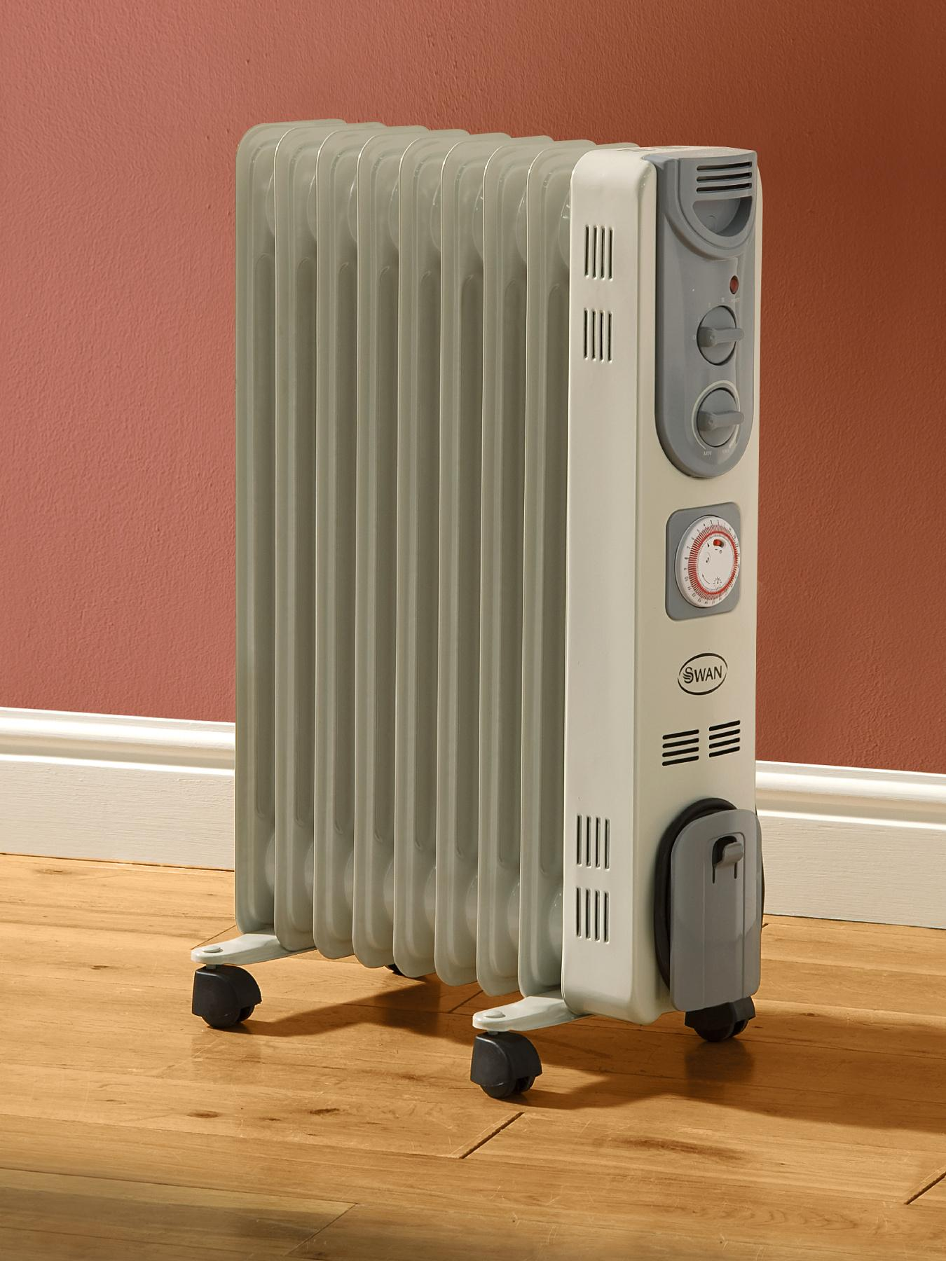 Oil Filled Radiator with Timer at Littlewoods