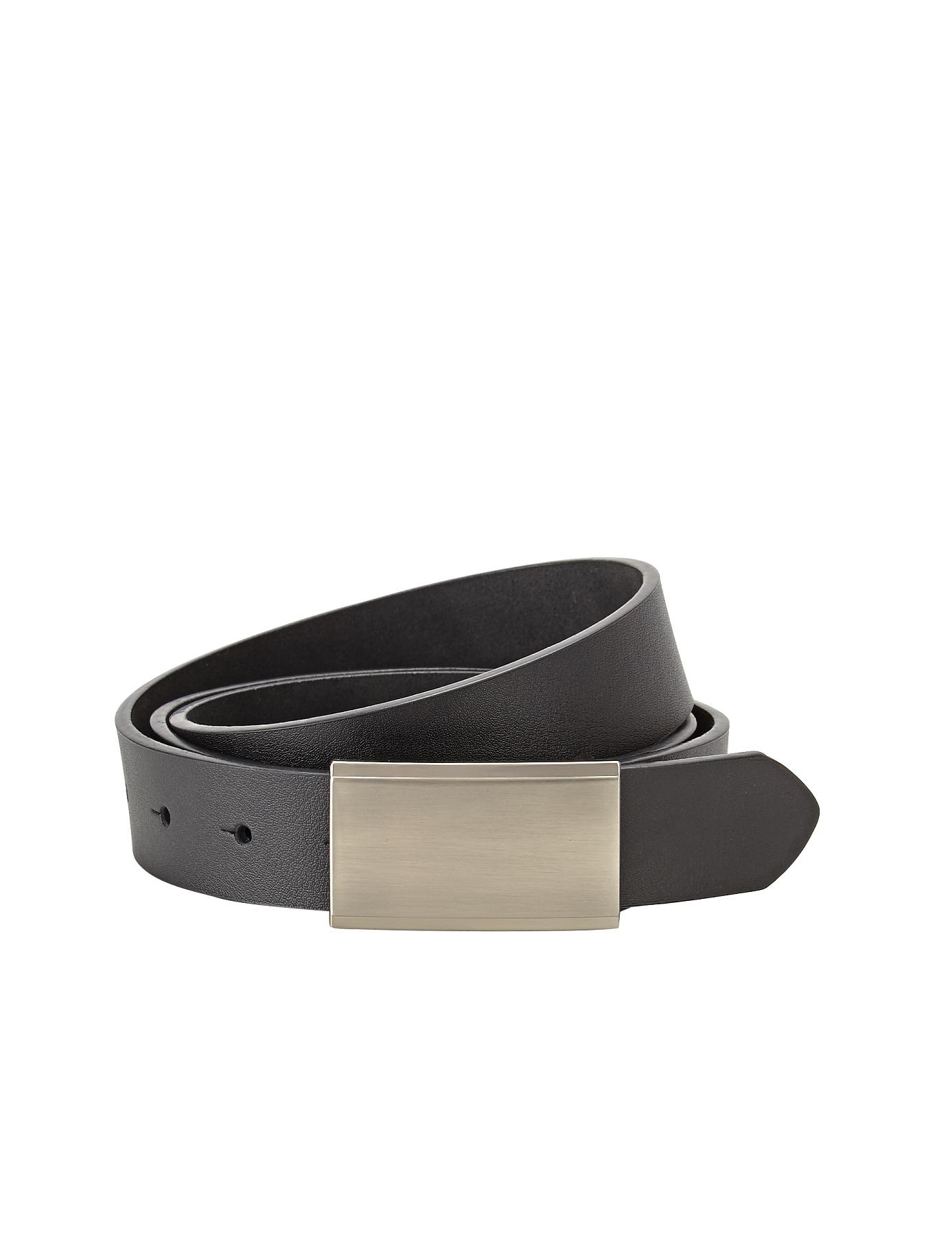 Mens Smart Leather Belt, Black,Brown