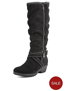 foot-cushion-bronte-contrast-stitch-casual-boots