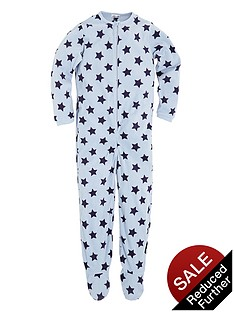 ladybird-toddler-boys-star-fleece-all-in-one