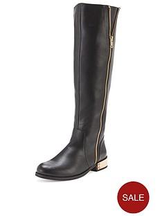 shoe-box-aisha-metal-heeled-calf-boots-black