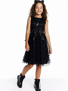 little-misdress-spot-bow-dress