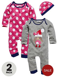 baby-girls-2-pack-robin-rompers-and-hat