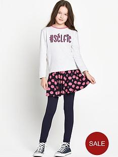 freespirit-girls-selfie-sweatshirt-spot-skirt-and-leggings-set-3-piece