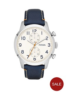 fossil-townsman-stainless-steel-and-navy-leather-strap-mens-watch