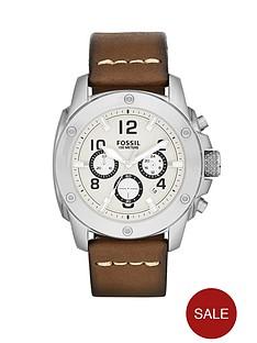 fossil-modern-machine-brown-leather-strap-mens-watch