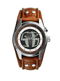 fossil-coachman-brown-leather-strap-mens-watch
