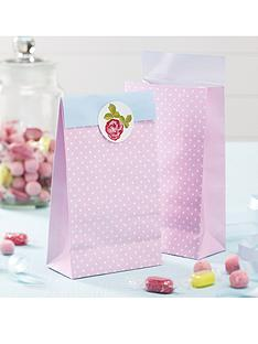 vintage-rose-party-bags