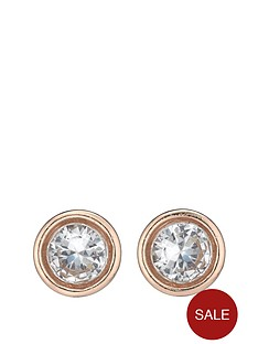 fiorelli-rose-gold-plated-crystal-stud-earrings
