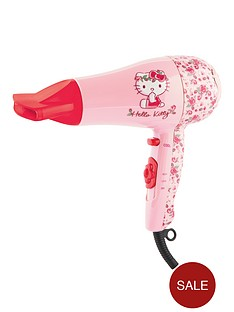 hello-kitty-1800-watt-flora-hairdryer-set