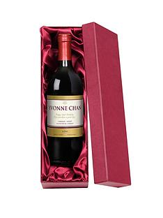 personalised-red-wine