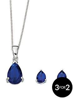 sterling-silver-blue-crystal-teardrop-earring-and-pendant-set