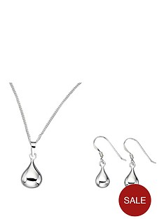 sterling-silver-droplet-earrings-and-pendant-set