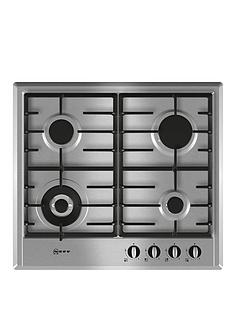 neff-t22s46n0-60-cm-built-in-gas-hob-stainless-steel