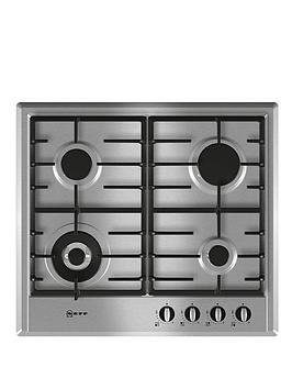 neff-t22s46n0-60cm-built-in-gas-hob-stainless-steel