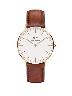 daniel-wellington-rose-gold-tone-leather-strap-unisex-watch